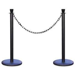 Kit 2 poteaux à chaine avec chaine