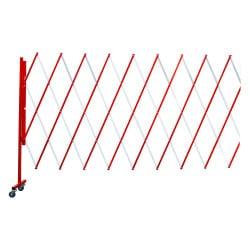 Barrière extensible 3.20 m sur roulettes
