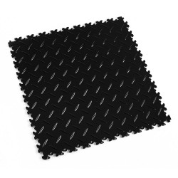 Dalle PVC clipsable - Motif diamant - Gamme industry - Usage intensif