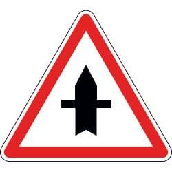 Panneau intersection à priorité ponctuelle - AB2