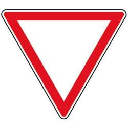 Panneau cédez le passage - AB3a