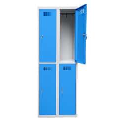 Vestiaire L750N 2 cases par colonne de 30cm