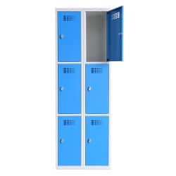 Vestiaire L770N 3 cases par colonne de 30cm