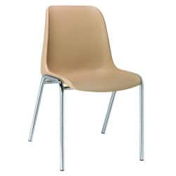 Chaise Naples, pieds diamètre 22mm, classement feu M4