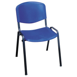 Chaise Iso, assise et dossier polypropylène M2