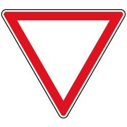 Panneau cédez le passage (signal de position) - AB3a