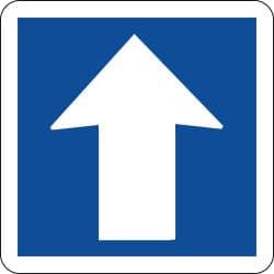 Panneau circulation à sens unique - C12