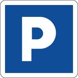 Panneau lieu aménagé pour le stationnement - C1a