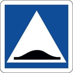 Panneau surélévation de chaussée - C27