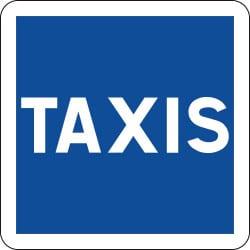 Panneau station de taxis - C5