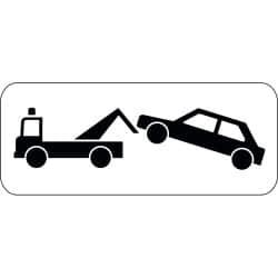 Panonceau stationnement et/ou arrêt gênant - M6a