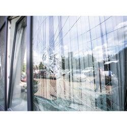 Film anti effraction extérieur très épais - Film pour vitrage