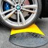 Ralentisseur jaune et noir - Longueur 1 m - Hauteur 6 cm