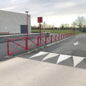 Barrière de ville Mérignac en acier