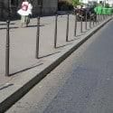 Borne anti stationnement urbaine traditionnel cordouan ø 60 h.0.95 m