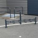 Support vélos 6 places design - Tête 1 gorge