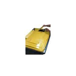 Conteneur emballages 660L 4 roues