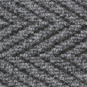 Tapis d'intérieur grattant professionnel gris