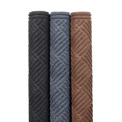 Tapis d'entrée aiguilleté polyester avec bordure caoutchouc - 151 Diamond CTE