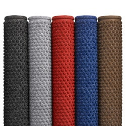 Tapis d'entrée aiguilleté polyester avec bordure caoutchouc - 150 Aqua Trap