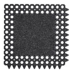 Caillebotis d'entrée caoutchouc avec insert tapis à clipser - 591 Master Flex C23