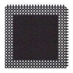 Caillebotis d'entrée caoutchouc avec insert tapis à clipser - 593 Master Flex C12