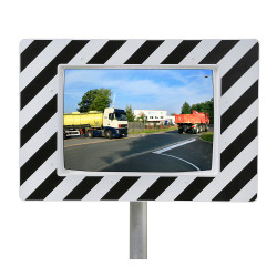 Miroir de circulation routière 90° Plexi+ & Poly+