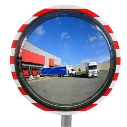 Miroir de contrôle de la circulation - Industrie & voie privée 180° Plexi+ & Poly+