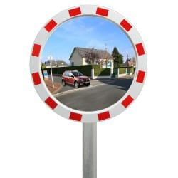 Miroir de contrôle de la circulation - Industrie & voie privée 90° Ecochok