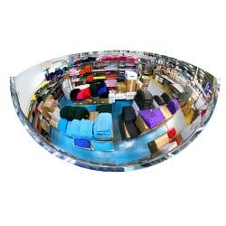 Miroir hémisphérique d'intérieur 180° Plexi+