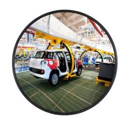 Miroir multi-usages intérieur 90° Plexi+ - Fixation par aimant