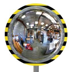 Miroir de sécurité pour entrepôt et logistique 180° Plexi+
