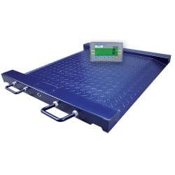 Balance plateforme fauteuil roulant PTM avec indicateur de poids GK